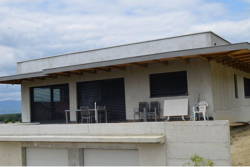 Maison d 39 architecte douvaine en haute savoie 74 for Architecte interieur haute savoie