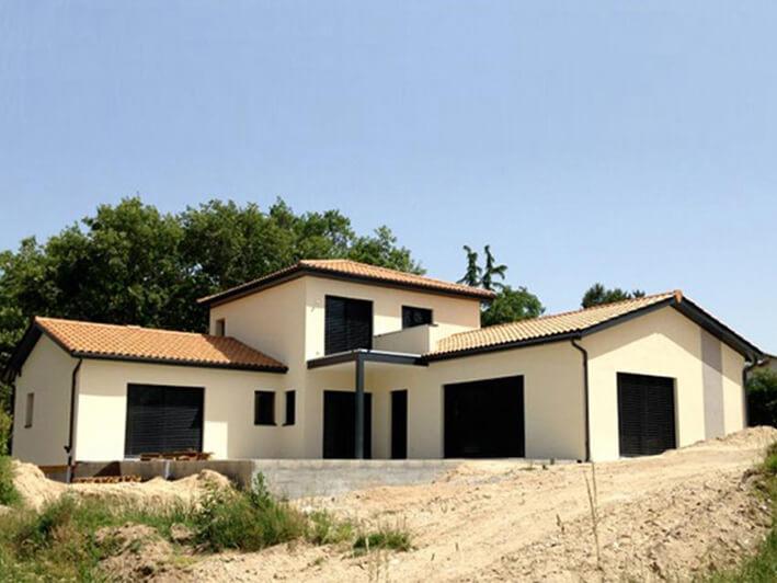 Maison D Architecte En Bois A La Tour De Salvagny 69